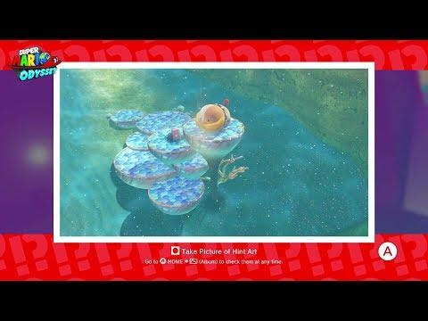 Luncheon Kingdom - Moon 49: Found With Luncheon Kingdom Art - Super Mario Odyssey