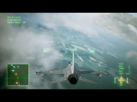 Ace Combat 7  Skies Unknown Deluxe Edition Campaign Mission 2 Charge The Enemy |