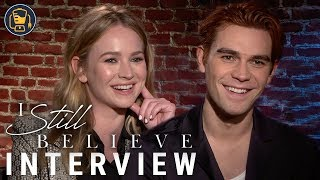 I Still Believe Interviews with KJ Apa, Britt Robertson and Jeremy Camp