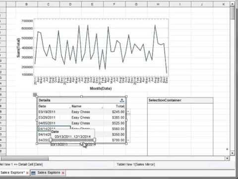 Filtering Date Ranges (v12.2)