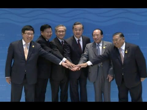 1st Lancang-Mekong River Cooperation FMs' Meeting Held in China