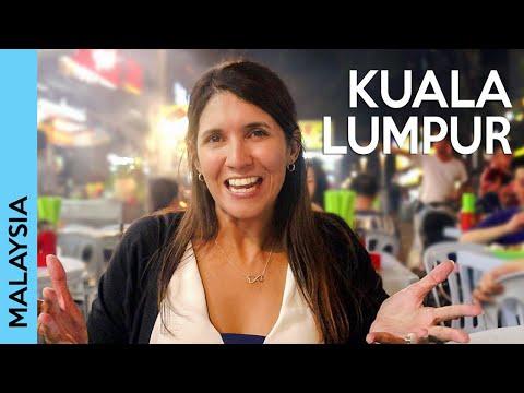KUALA LUMPUR, MALAYSIA: Bukit Bintang Daytime And Nightlife | Vlog 2