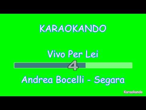 Karaoke Duetti - Vivo per Lei - Bocelli - Giorgia Testo