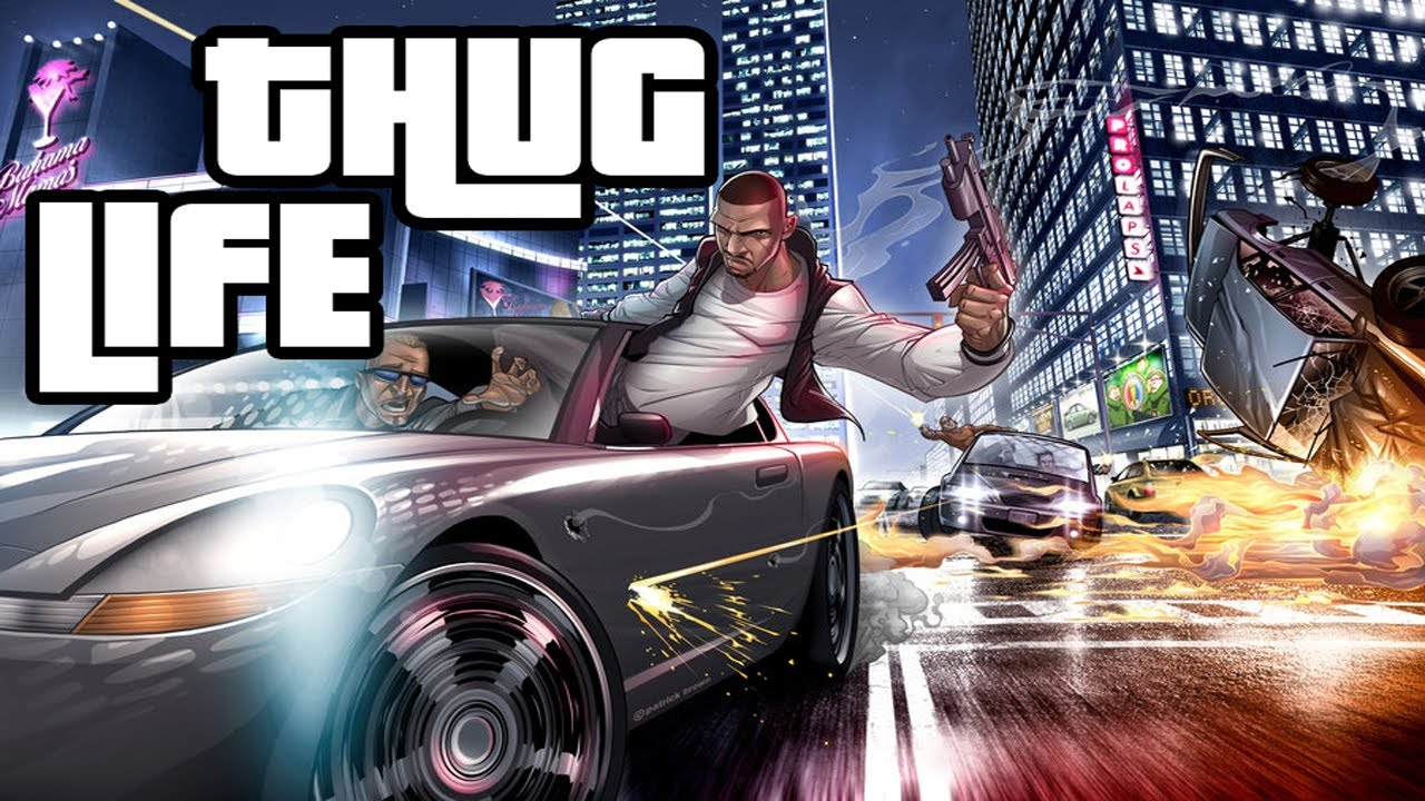 GTA 4 Thug Life #1 - LIBERTY CITY THUG - YouTube