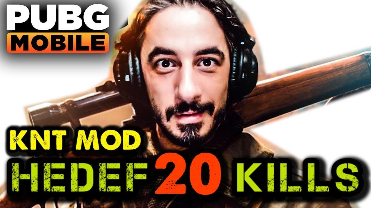 20 KILLS CHALLENGE - PUBG Mobile (KNT Mod)
