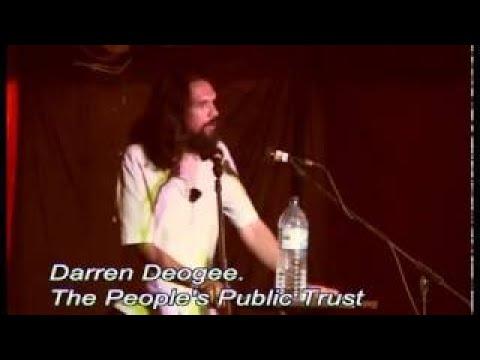 Darren Deojee: The Peoples Public Trust Green Gathering 2011