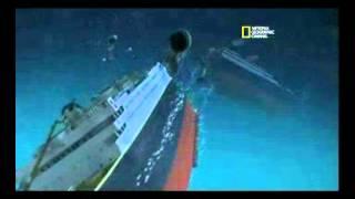 فيديو حقيقة غرق سفينة تايتنك