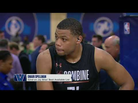 Omari Spellman Full Interview | May 18, 2018 | 2018 NBA Draft Combine Day 2