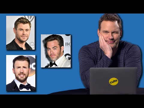Chris Pratt Takes BuzzFeed's 'Which Famous Chris Is Your Soulmate?' Quiz