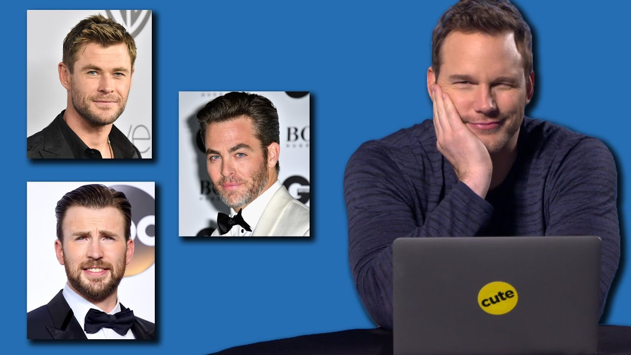 Chris Pratt Takes Buzzfeeds Which Famous Chris Is Your Soulmate