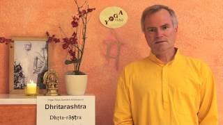 Dhritarashtra - der das Koenigreich Haltende - Sanskrit Lexikon