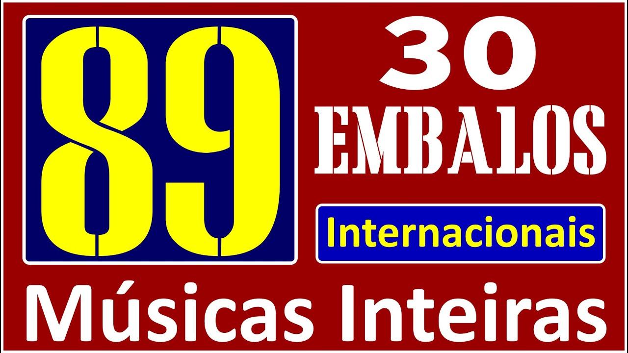 30 EMBALOS QUE MARCARAM 1989! Músicas Inteiras!