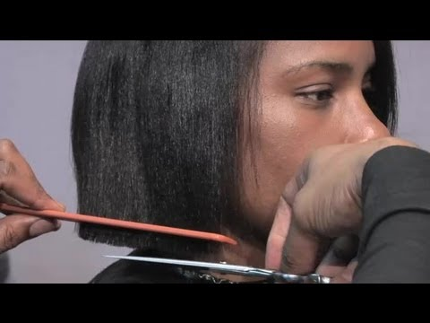 How to Cut a Short Bob Style Haircut
