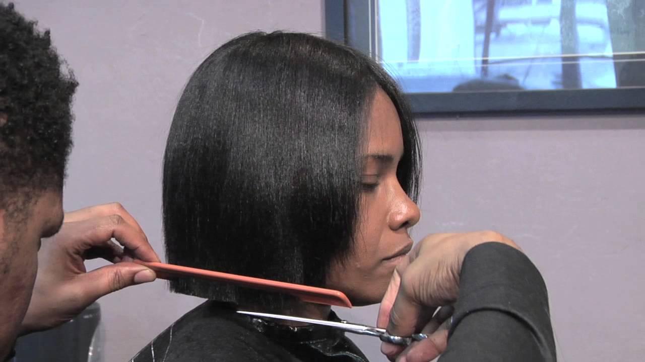 How To Cut A Short Bob Style Hair Cut Hair Care Styling Advice