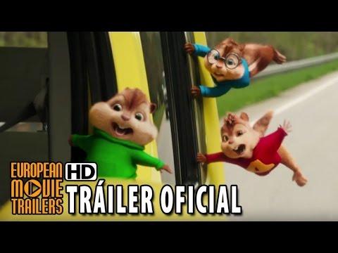 Alvin Y Las Ardillas: Fiesta Sobre Ruedas Tráiler Oficial #2 En Español (2016) HD
