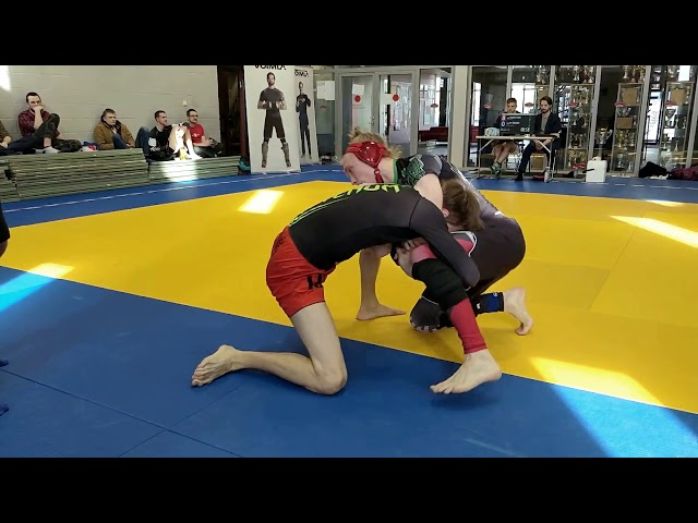 Võimla Triangel 1: beginners nogi BJJ competition 24.03.2018