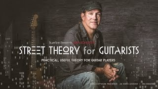 Jeff Scheetz's Street Theory For Guitarists - Intro