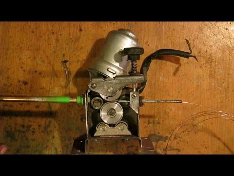 Механизм протяжки полуавтомат своими руками