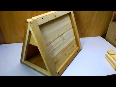 DIY dog kennel - wooden dog house