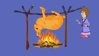 Угарный анекдот про охоту Жаренный заяц