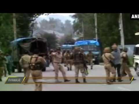 Jammu kashmir - India vs Pakistan fight