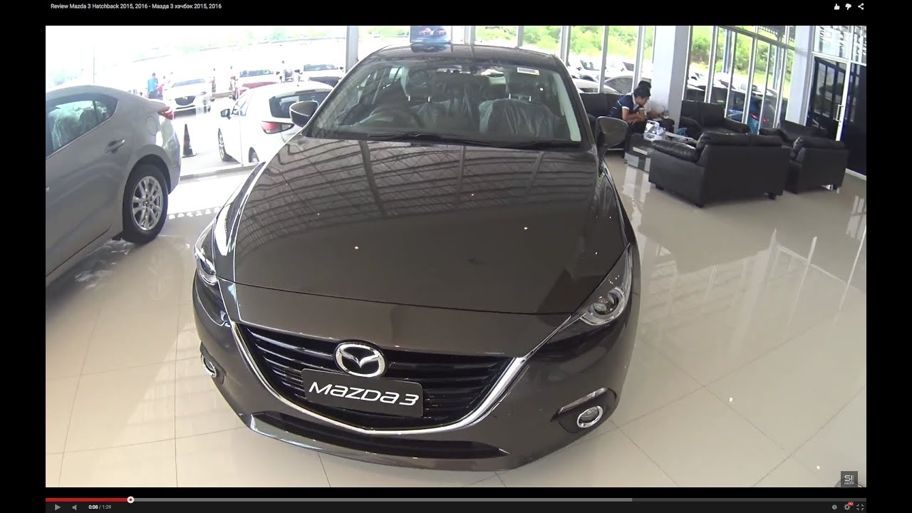 video review mazda 3 hatchback 2015 2016 youtube. Black Bedroom Furniture Sets. Home Design Ideas
