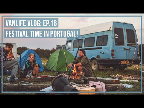 FESTIVAL TIME in Portugal! (Freekuency)|Vanlife Vlog Ep. 16