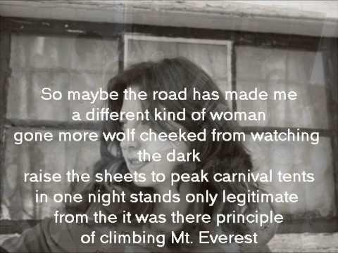 The Fugitives Greyhound lyrics on screen