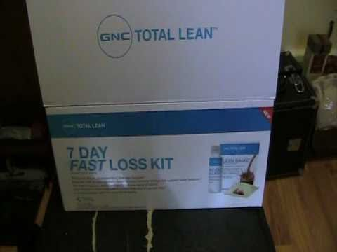 Gnc Total Lean Fast Loss Kit