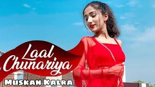 Gambar cover Akull - Laal Chunariya   Dance Video   VYRL originals   Muskan Kalra Choreography