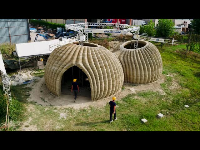 3D Printed House - Tecla