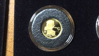 Fractional Gold Coin Collection