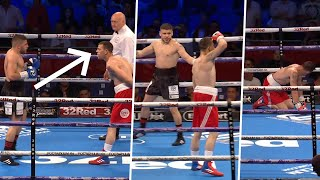 Boxer tries Billy Joe Saunders showboat but then gets finished in the final round
