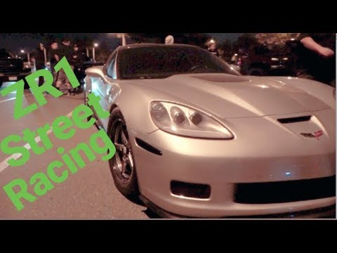 Corvette ZR1 vs Eclipse $2,600 Street Race DSM