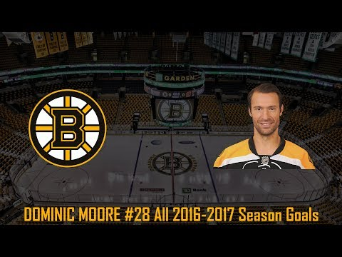 Dominic Moore - NHL Season 2016/2017 (All Goals)