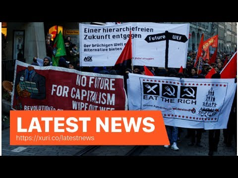 Latest News - The protesters against Trump march in the capital of Switzerland
