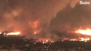 New footage shows Carr Fire  'fire tornado' that killed California firefighter