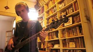 I Talk to the Wind - King Crimson bass cover by Nacho