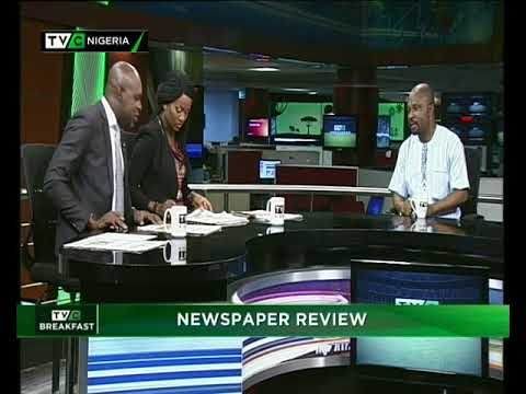 TVC Breakfast 15th Feb. 2018 |  Newspaper Review