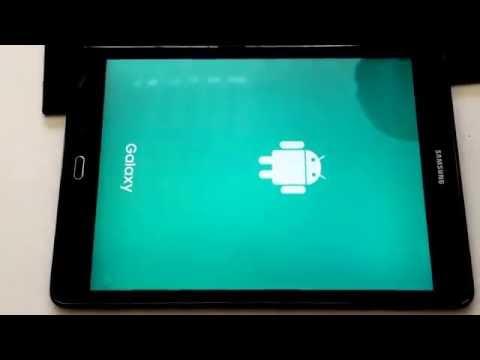 Hard reset Samsung sm T550 recovery . Samsung tablet yazılım yukleme.