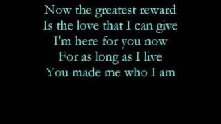 Watch Celine Dion The Greatest Reward video