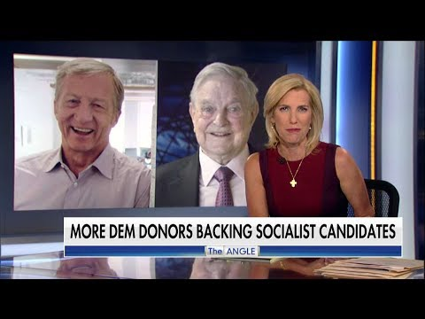 Ingraham: Far-Left Billionaires Soros, Steyer Uniting to Remake America