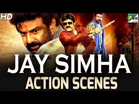 Jay Simha - Action Scenes | New Action Hindi Dubbed Movie | Nandamuri Balakrishna, Nayanthara