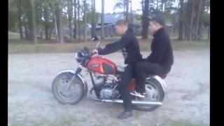 дураки на мото приколы Мотоциклы иж ,урал, днепр, ява.