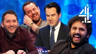 Download Jimmy Carr's SAVAGE Joke For Nish Kumar | Insults Pt. 7 | 8 Out of 10 Cats Does Countdown Mp3 and Videos