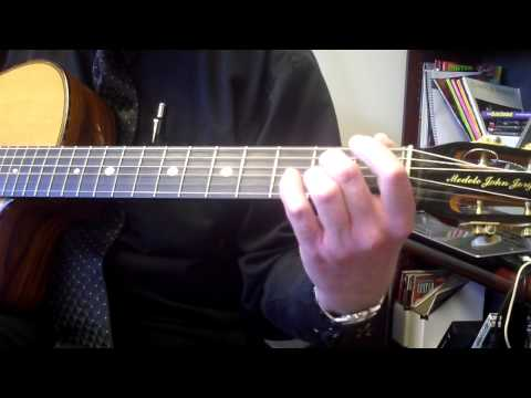 Learning To Play The D sus Chord