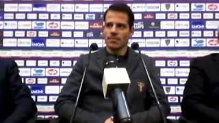 Lecce, presentazione Costa Ferreira con Dg Mercadante e Ds Meluso