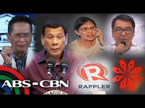 Journalists, lawyers deny involvement in alleged ouster plot vs Duterte | ANC
