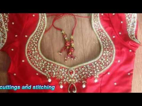 Indian saree blouse, Latest saree blouse designs 4