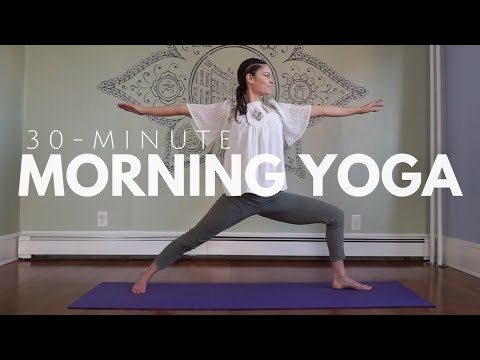 Yoga for the Morning - 30-Minute Yoga Practice - Mellow Intermediate, Beginner Friendly